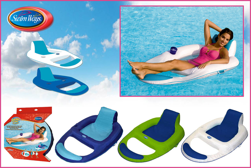 Spring Float Swimming Pool Floating Recliner  sc 1 th 183 & Float Swimming Pool Floating Recliner islam-shia.org